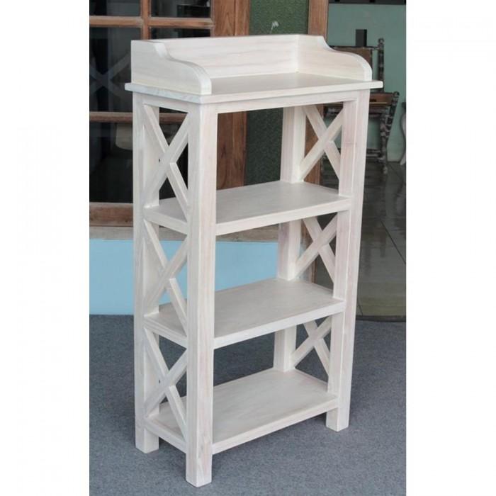 La libreria shabby chic in legno per il tuo arredamento for Immagini librerie d arredamento