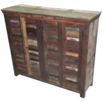Reclaimed wooden cupboard from India
