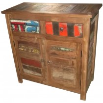 Reclaimed wooden sideboard from India