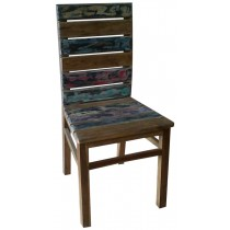 Chair with reclaimed wood