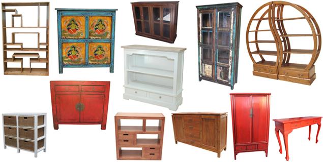meubles ethniques proven aux et en art pauvre sur etnicart. Black Bedroom Furniture Sets. Home Design Ideas