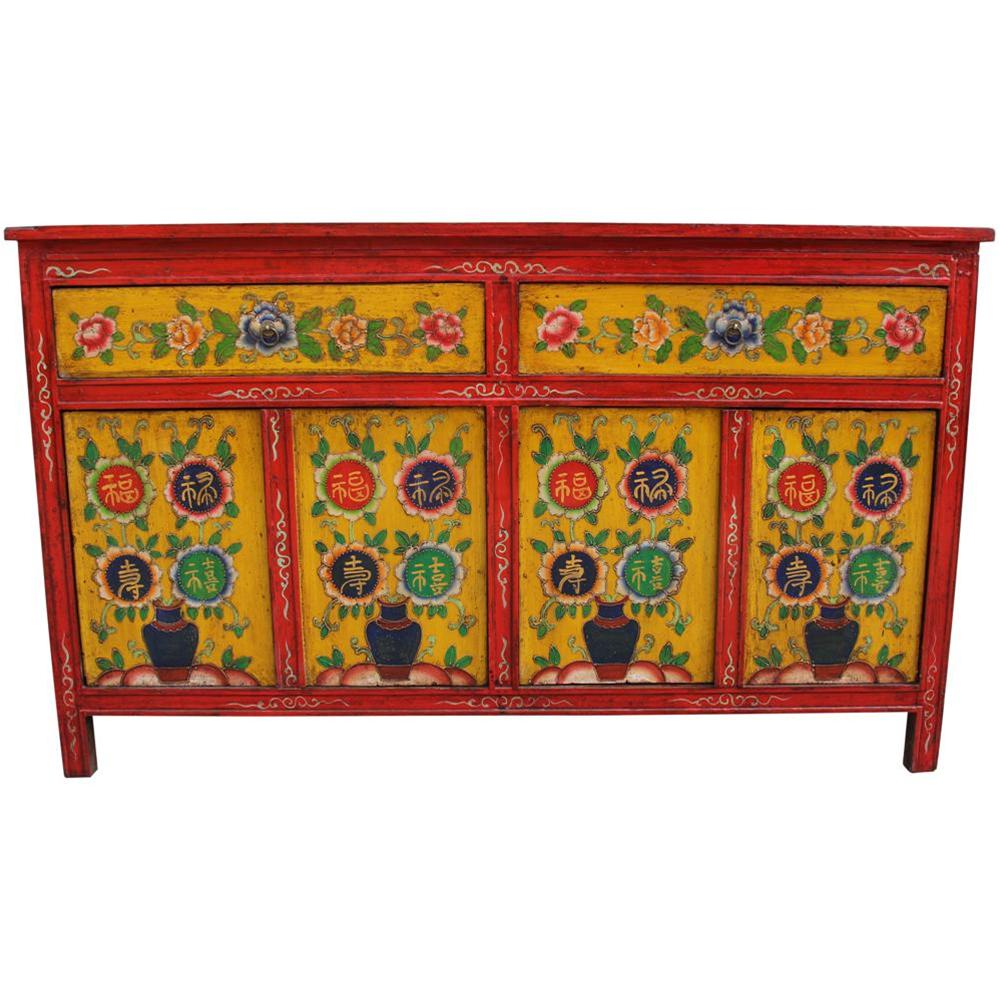 Finest credenza dal tibet credenza tibetana with for Mobili acquisto on line